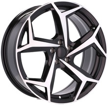 AMALFI style ALLOYS 17'' 5X100 do: AUDI A1 A3 A3 VW