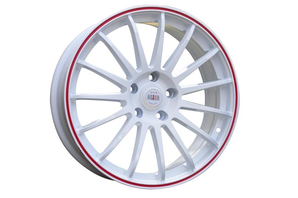 RACING LINE RM31 hliníkové disky 6x15 5x112 ET47 W - White