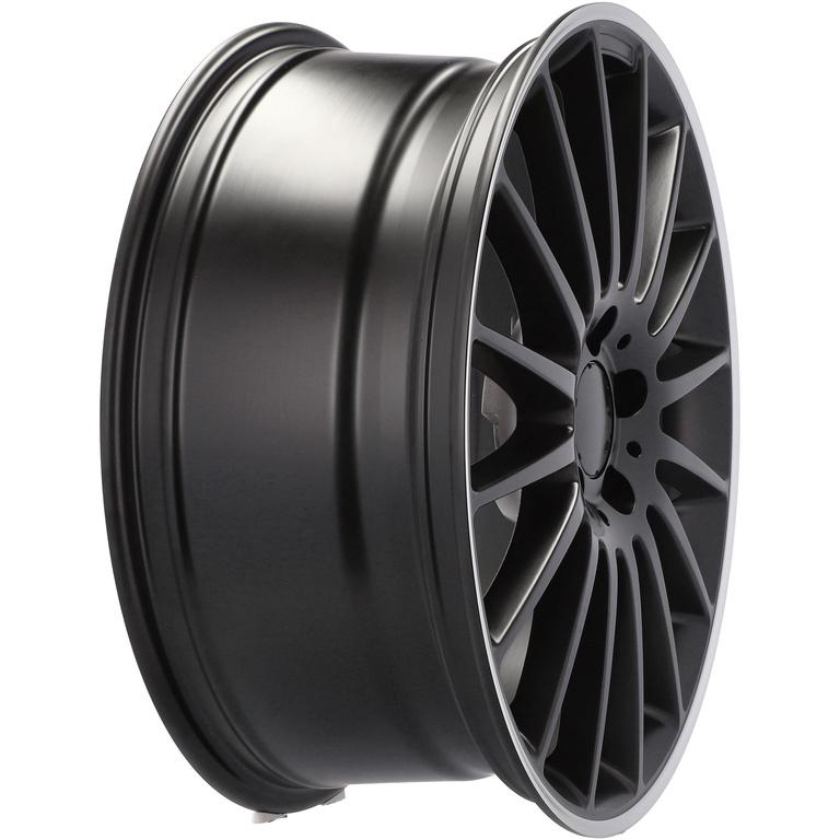 RACING LINE RA1020 hliníkové disky 9x19 5x112 ET54 BM - Black matt