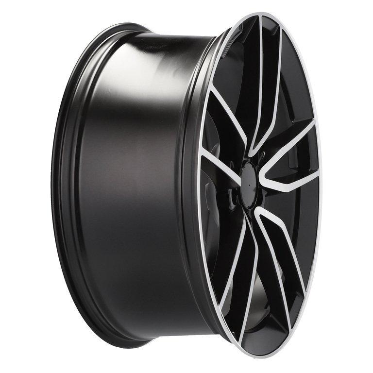 RACING LINE RBK5610 hliníkové disky 8,5x20 5x112 ET43 BLP - Black + polished