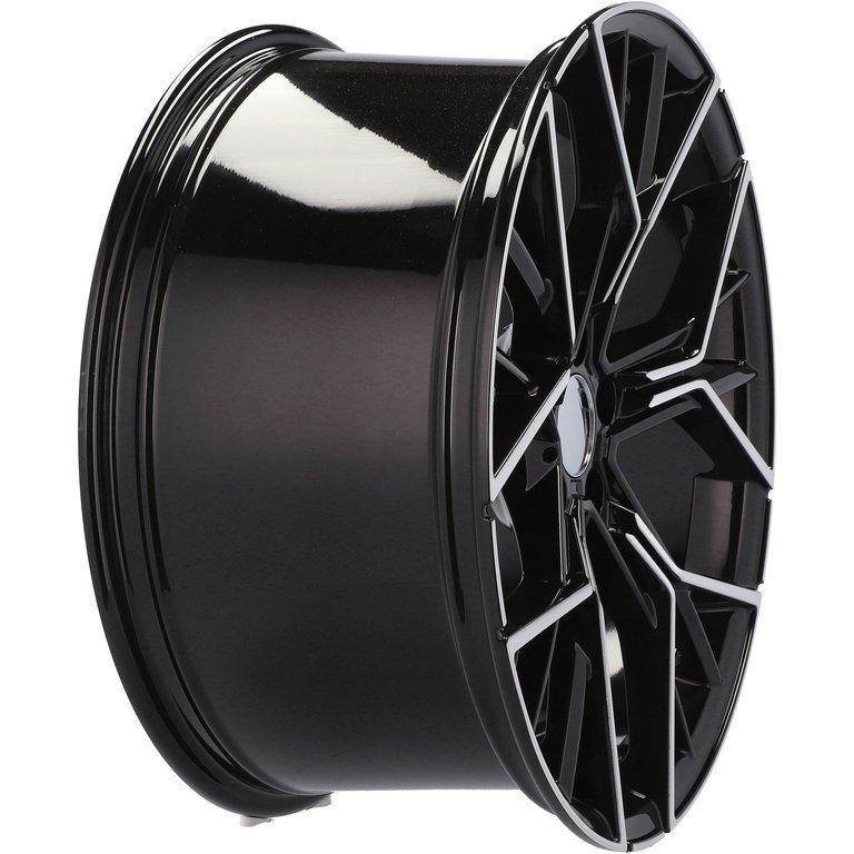 RACING LINE RA5602 hliníkové disky 8,5x20 5x120 ET35 MB - POLISHED + BLACK