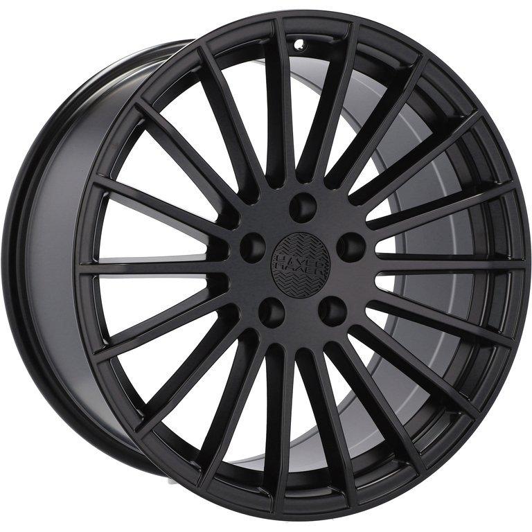 HAXER RHX010 hliníkové disky 9x22 5x120 ET30 BM - Black matt