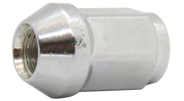 Nuts for aluminum rims, wheels - M12x1,5 / Zinc - (closed) - TUV (EU)