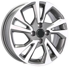 DISKY 16'' 4X100 HONDA CITY CIVIC CRX JAZZ LOGO